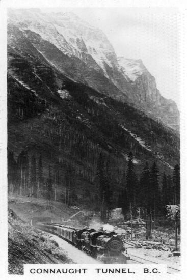 Connaught Tunnel, British Columbia, Canada, C1920S--Giclee Print