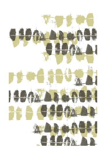 Connect the Dashes Neutral I-Jennifer Goldberger-Art Print
