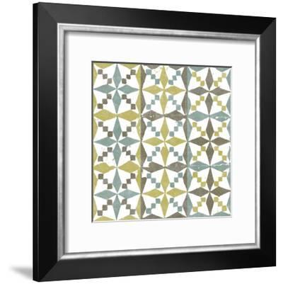 Connection V-Alonzo Saunders-Framed Art Print