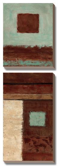Connections on Impulse II-Ursula Salemink-Roos-Canvas Art Set