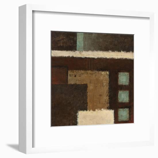 Connections on Impulse III-Ursula Salemink-Roos-Framed Giclee Print