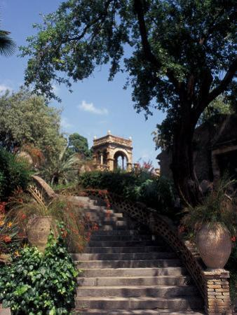 Public Garden of Taormina, Sicily, Italy