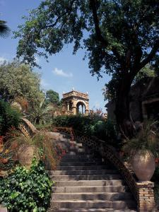 Public Garden of Taormina, Sicily, Italy by Connie Ricca