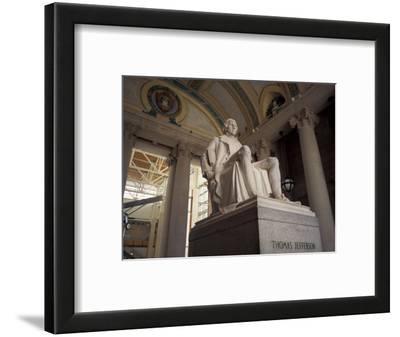 Statue of Thomas Jefferson, Missouri History Museum, St. Louis, Missouri, USA