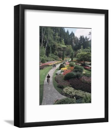 Sunken Garden at Butchart Gardens, Vancouver Island, British Columbia, Canada