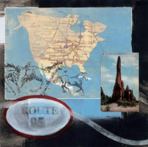 Great American Road Trip I by Connie Tunick