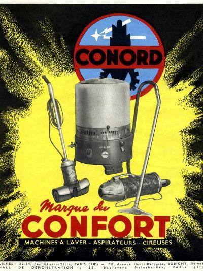 Conord Domestic Appliances Advert, 1949-CCI Archives-Photographic Print