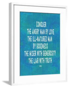 Conquer The Angry Man-Lisa Weedn-Framed Giclee Print