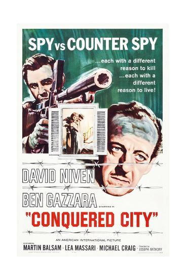 Conquered City--Giclee Print