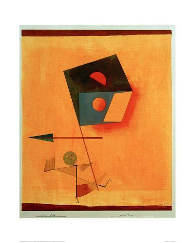Conqueror-Paul Klee-Giclee Print