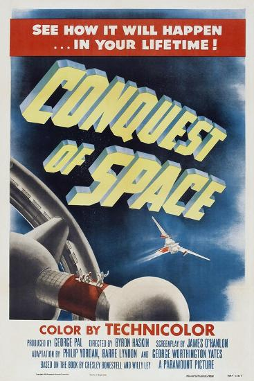 Conquest of Space, 1955--Art Print