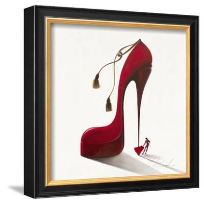 Conquistatore Passionate-Inna Panasenko-Framed Art Print