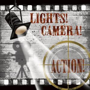 Lights! Camera! Action! by Conrad Knutsen