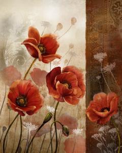 Wild Poppies II by Conrad Knutsen
