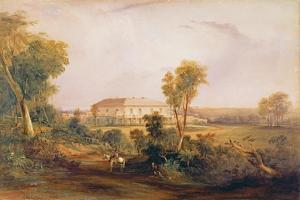 Camden Park House, Home of John Macarthur (1767-1834), 1843 by Conrad Martens