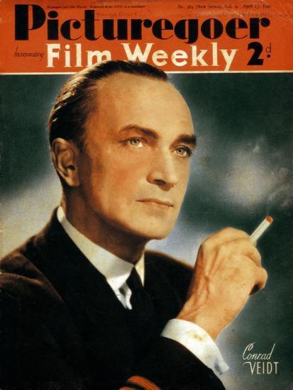 Conrad Veidt (1893-194), German Actor, 1940--Giclee Print
