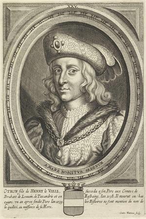 Portrait of Otto, Duke of Brabant and Leuven, 1662
