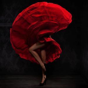 Flamenco Dancer by conrado