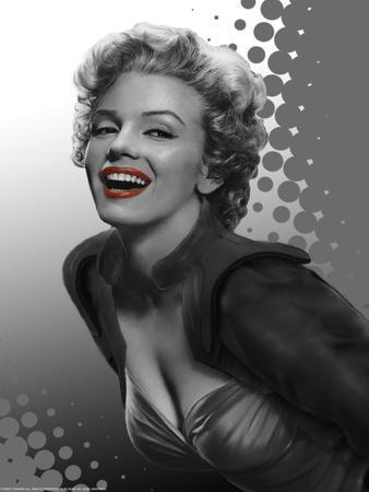 Marilyn Red Dots