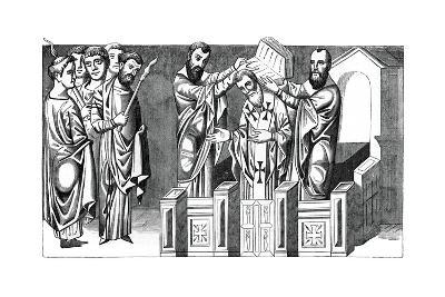 Consecration of a Bishop, 9th Century--Giclee Print