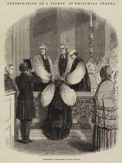 Consecration of a Bishop, at Whitehall Chapel--Giclee Print