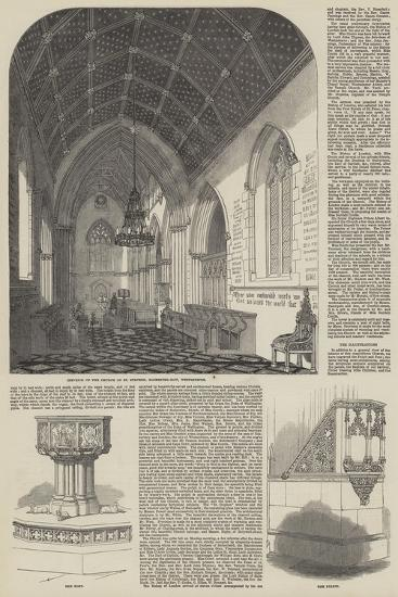 Consecration of the Church of St Stephen the Martyr in Westminster--Giclee Print