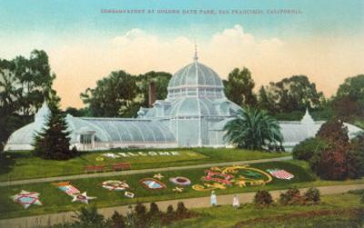 Conservatory at Golden Gate Park, San Francisco, California