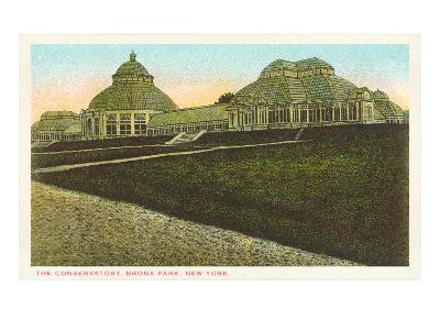 Conservatory, Bronx Park, New York City--Art Print