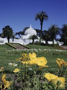 Conservatory of Flowers, Golden Gate Park, San Francisco, California, USA