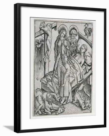 Consolation Through Confidence--Framed Giclee Print