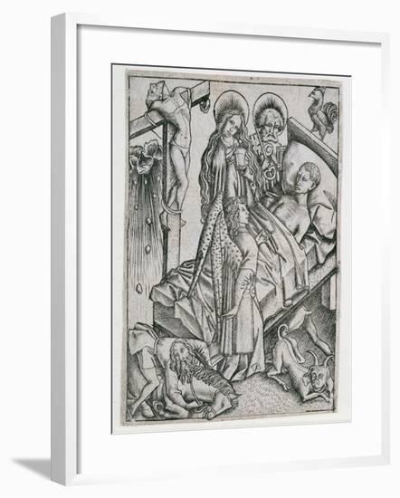 Consolation Through Confidence--Framed Giclee Print