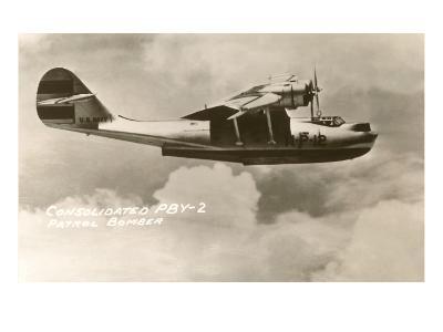 Consolidated PBY-2 Navy Patrol Bomber--Art Print