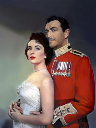 CONSPIRATOR, 1949 directed by VICTOR SAVILLE Elizabeth Taylor and Robert Taylor (photo)