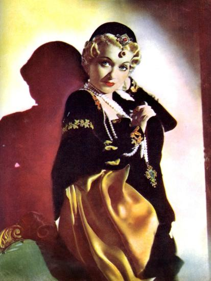 Constance Bennett, American Actress, 1934-1935--Giclee Print