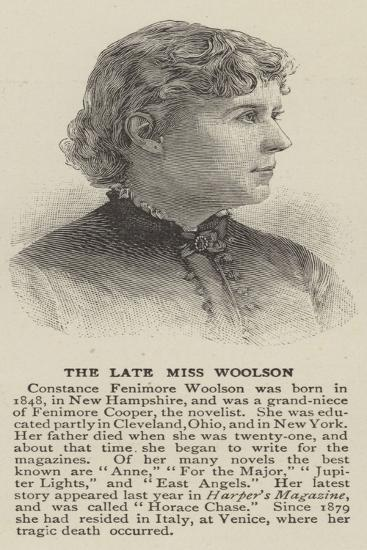 Constance Fenimore Woolson--Giclee Print