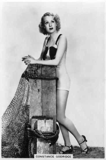 Constance Godridge, British Actress, 1938--Giclee Print