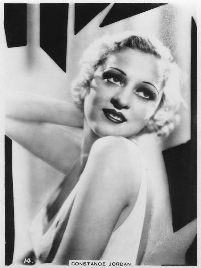 Constance Jordan, Actress, C1938--Giclee Print
