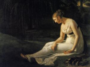 Melancholy, 1801 by Constance Marie Charpentier