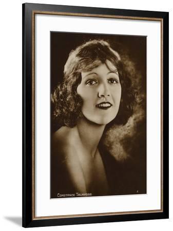 Constance Talmadge--Framed Photographic Print