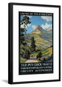 Le Puy Griou by Constant Leon Duval