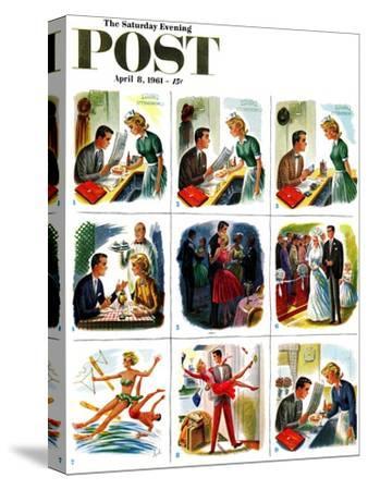 """Circle of Love,"" Saturday Evening Post Cover, April 8, 1961"
