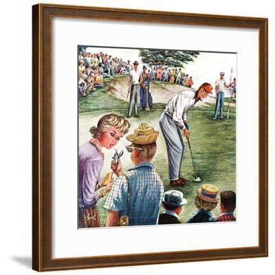 """""""Distracted Pro Golfer,"""" July 2, 1960"""