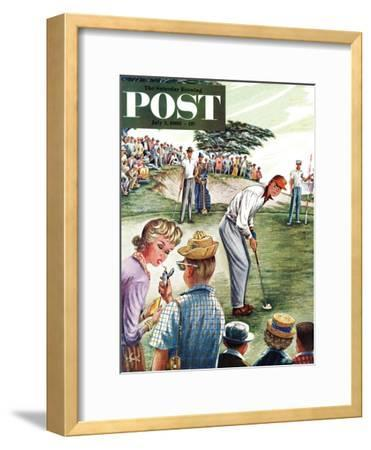 """Distracted Pro Golfer,"" Saturday Evening Post Cover, July 2, 1960"