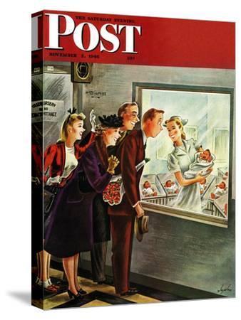"""Maternity Ward,"" Saturday Evening Post Cover, November 2, 1946"