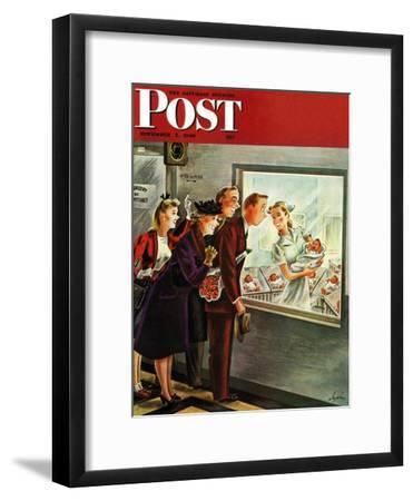 """Maternity Ward,"" Saturday Evening Post Cover, November 2, 1946"