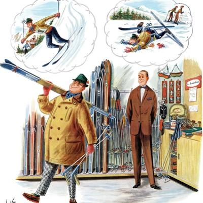 """""""New Skier,"""" March 4, 1961"""