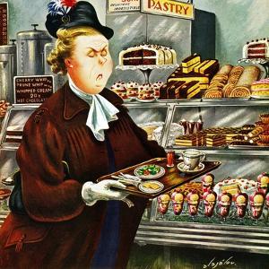 """NO Desserts,"" March 12, 1949 by Constantin Alajalov"