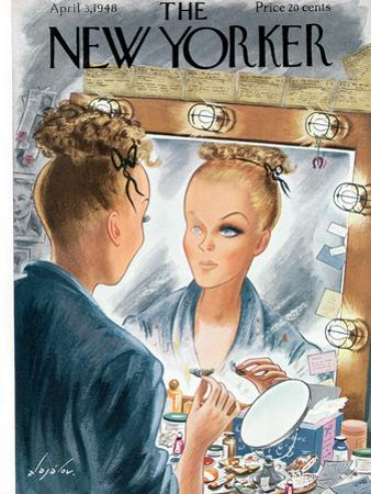 The New Yorker Cover - April 3, 1948 by Constantin Alajalov