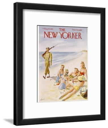 The New Yorker Cover - August 14, 1943