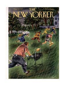 The New Yorker Cover - August 20, 1949 by Constantin Alajalov